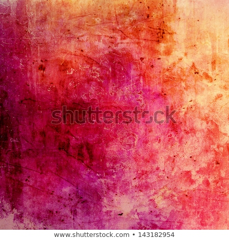 Old Wall With Weathered Yellow Paint Background Texture Stock photo © Kuzeytac