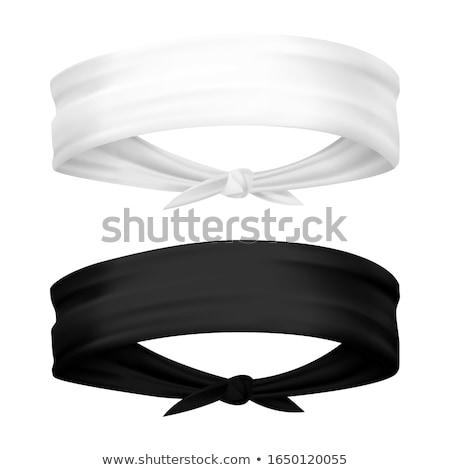 műanyag · izolált · fehér · divat · haj · szépség - stock fotó © siavramova