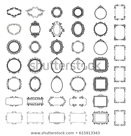 set of ornate vector frames stock photo © kariiika