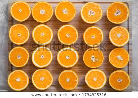 オレンジ ピール 孤立した 白 皮膚 ストックフォト © digitalr