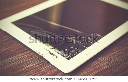 Broken Tablet Stock photo © stevanovicigor