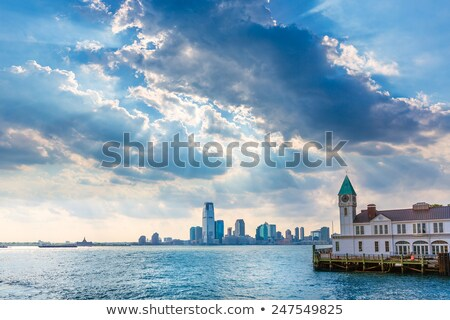 Pier A in Battery Park Manhattan with New Jersey Stock photo © lunamarina