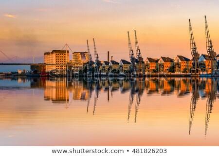 canary · wharf · Лондон · мнение · Запад · Индия · кредитных - Сток-фото © smartin69