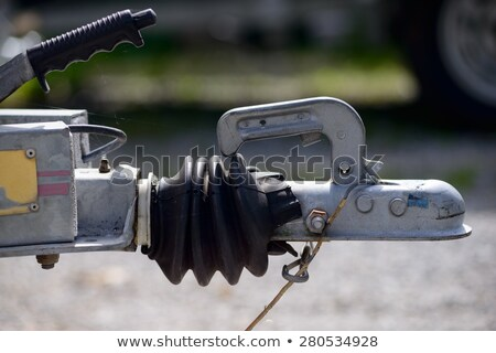 Close-up of a boat trailer hitch Stock photo © papa1266