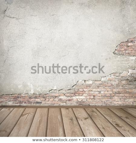 詳細 赤 壁 白 背景 レトロな ストックフォト © Melvin07