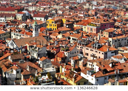 tilt-shift photography of Venice, Italy Stock photo © nito