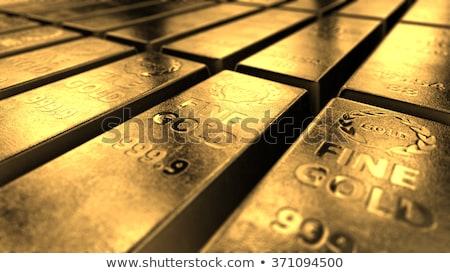 oro · valor · financieros · dinero · metal · banco - foto stock © janpietruszka