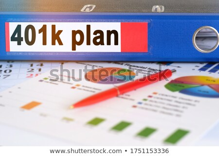 Office Folder with inscription 401K. Stock photo © tashatuvango