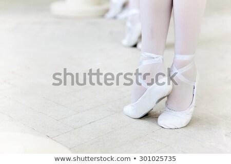 pequeno · grupo · meninas · vestidos · quebrar - foto stock © master1305