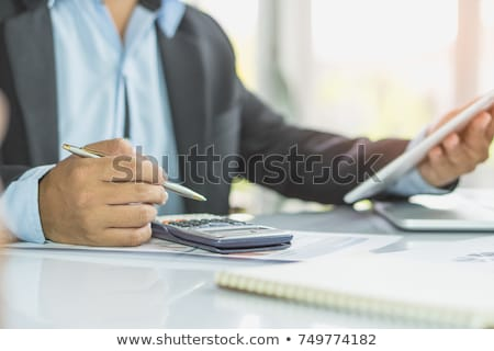 Businessman requesting for money loan Stock photo © stevanovicigor