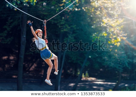 Man with equipment rope link Stock photo © Paha_L