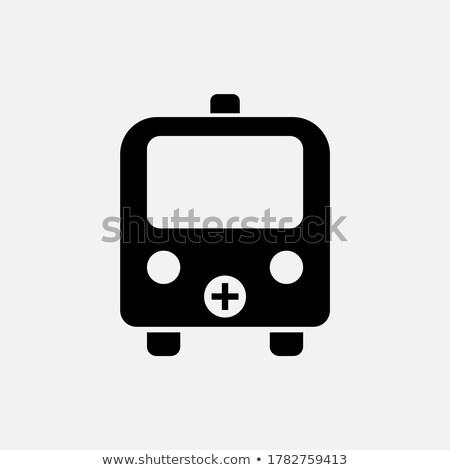 Mentő ibolya vektor ikon terv digitális Stock fotó © rizwanali3d