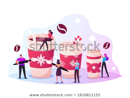 Hot drink in the cup  Stock photo © grafvision