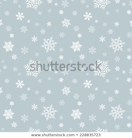 снежинка шаблон вектора легкий бумаги текстуры Сток-фото © rommeo79