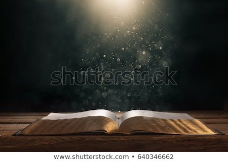 Text of the Bible Stock photo © alphaspirit