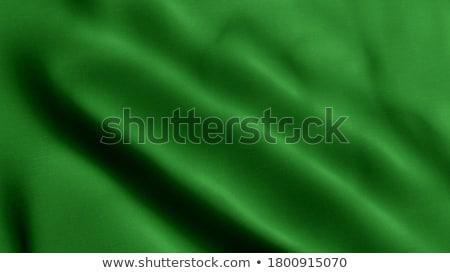 зеленый флагами набор прямоугольный металл флагшток Сток-фото © creatOR76