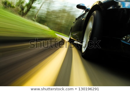 wheels rush on speed road Stock photo © ssuaphoto