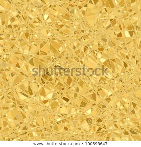 golden business mosaic eps 8 stock photo © beholdereye