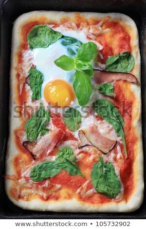 eigengemaakt · pizza · detail · vergadering · counter · klaar - stockfoto © digifoodstock