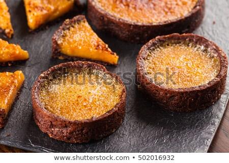 creme · framboesa · bolo · sobremesa · fresco · baga - foto stock © digifoodstock