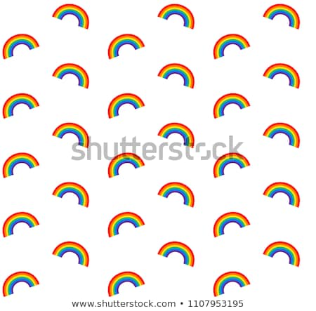 man with a rainbow-patterned heart Stock photo © nito