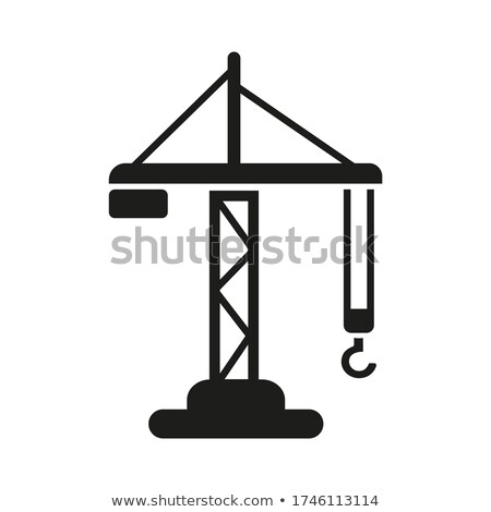 Construction crane lifting Stock photo © 5xinc
