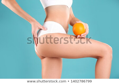 Meisjes zitvlak elastisch sexy girl Stockfoto © bezikus