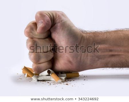 сигарету остановки курение табак привычка символ Сток-фото © Lightsource
