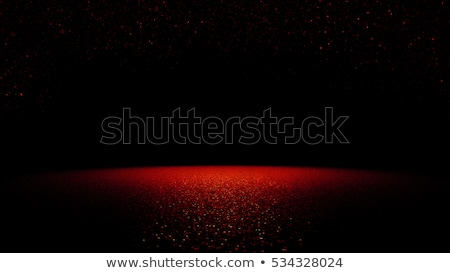 3d illustration abstract black with red background stock photo © brux