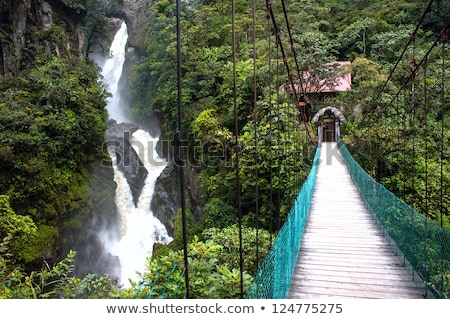 Waterfalls in Banos, Ecuador Stock photo © julianpetersphotos