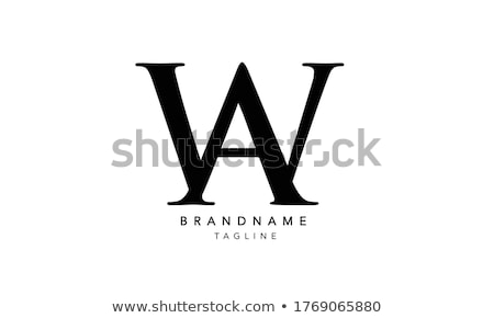 Stok fotoğraf: Logo · tasarımı · 10 · dizayn · arka · plan · mektup · finanse