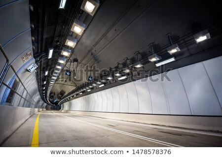 Urbanas ciudad túnel construcción edificio Foto stock © dolgachov