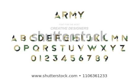 armas · campo · de · batalla · arma · militar · futuro · hardware - foto stock © robuart