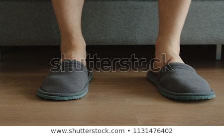 脚 · フィート · 男 · 座って · 男性 - ストックフォト © dtiberio