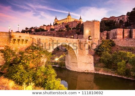 Panorama famoso ponte Espanha europa belo Foto stock © kyolshin