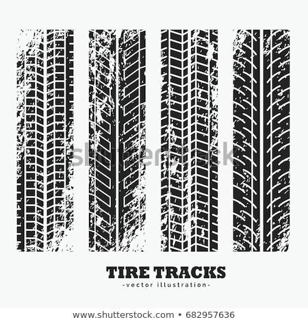 ingesteld · grunge · band · textuur · auto · motorfiets - stockfoto © sarts