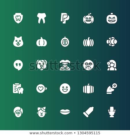 Condoom emoties collectie ingesteld geïsoleerd Stockfoto © rogistok