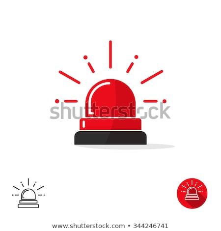 carro · azul · luz · assinar · isolado · médico - foto stock © maryvalery