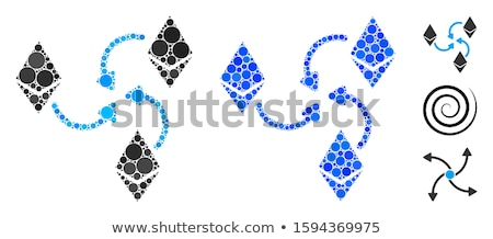 Mixer swirl icon vector toepassing web design Stockfoto © ahasoft