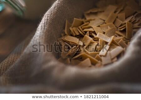kicsi · tészta · adag · elegáns · diéta · fehér - stock fotó © digifoodstock