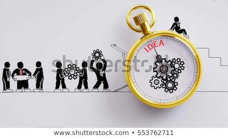 business case   doodle red word business concept stock photo © tashatuvango
