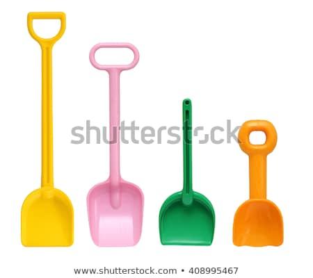 Beach shovel Stock photo © 5xinc