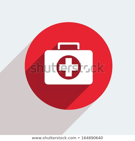 elsősegély · orvosi · szalag · egészségügy · vektor · gyógyszer - stock fotó © Leo_Edition