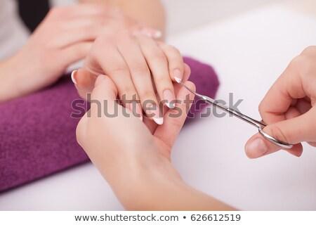 Stockfoto: Salon · lijn · ontwerp · spa · ontspanning · wellness