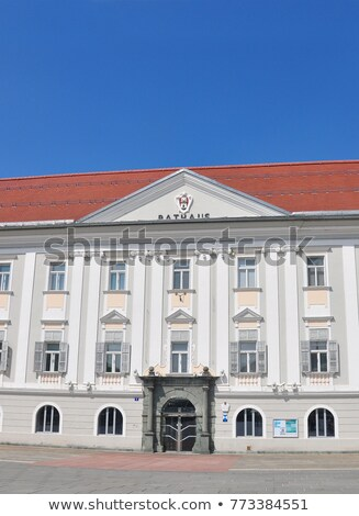 Novo prefeitura Áustria viajar arquitetura cidade Foto stock © rbiedermann