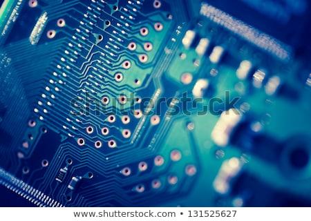 számítógép · alkatrész · közelkép · tábla · elektronika · absztrakt · technológia - stock fotó © oleksandro