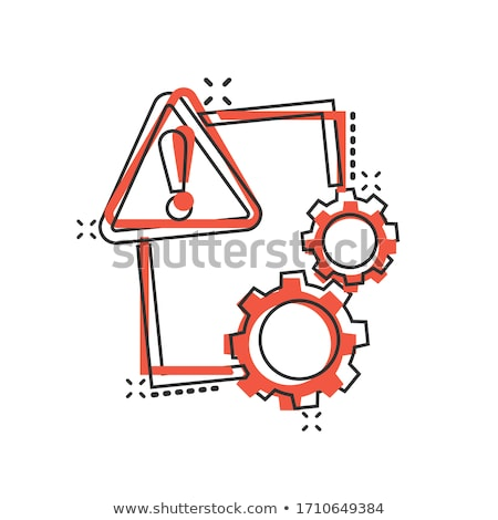 Contract Danger Stock photo © Lightsource