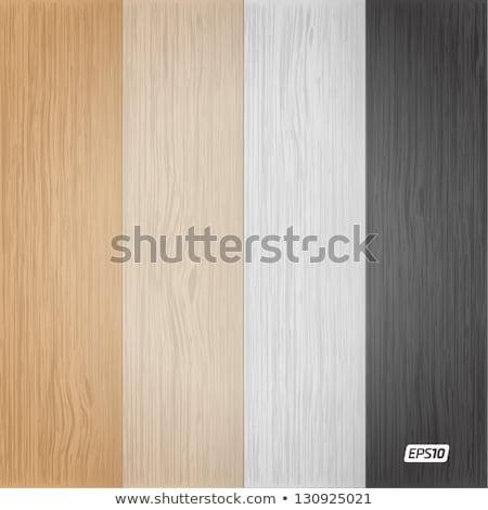 Zdjęcia stock: Zestaw · drewna · tekstury · wzór · wektora