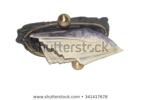 кошелька фунт отмечает никто крупным планом Сток-фото © IS2
