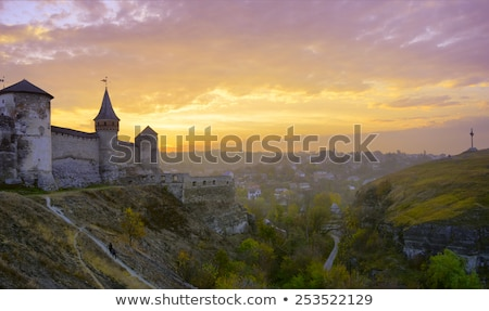 Medieval fortress in Kamenets-Podolsky, Ukraine Stock photo © Kotenko